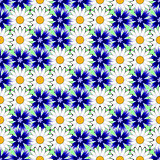 Design seamless colorful floral decorative pattern