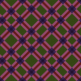 Checkered diagonal seamless tartan texture