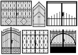 Set of different gates