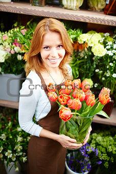 Charming florist
