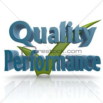 Tick quality performance