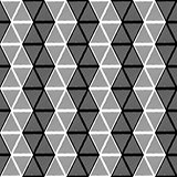 Design seamless monochrome triangle pattern