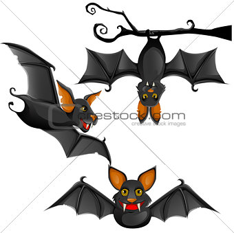 cute vector bat