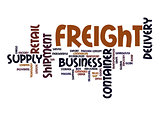 Freight word cloud