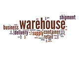 Warehouse word cloud