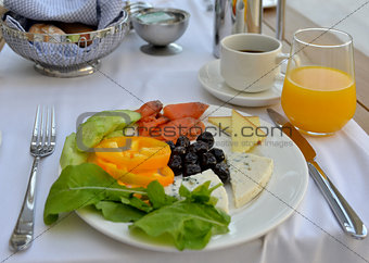 aristocratic breakfast