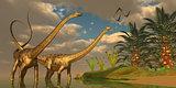 Diplodocus Dinosaur Romance