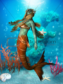 Seawater Mermaid