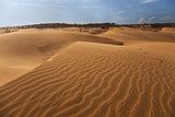 Red sand dune in Mui ne, Vietnam
