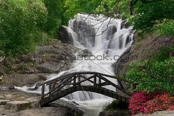 Beautiful Waterfall in Dalat, Vietnam