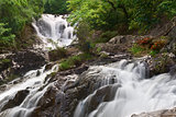 Beautiful waterfall in Dalat,  Vietnam