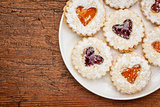 heart biscuit cookies