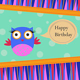 Bithday Template greeting card
