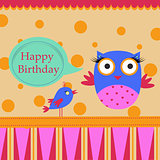Birthday Template greeting card