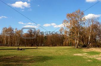 Tiergarten center city park