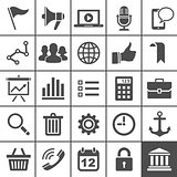 Universal Icon Set. 25 icons for website and app