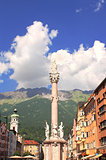 Our Lady statue in Innsbruck, Austria