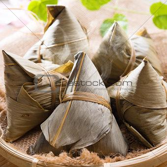 Rice dumpling or zongzi.