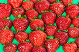ripe juicy strawberries