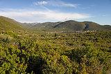 Mediterranean Landscape In Southern Greece