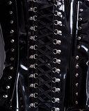 Close-up shot of professional waist training corset