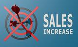 Dart board blue sales increase