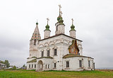 Ancient church of St. Dmitry Solun in Veliky Ustyug