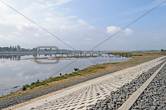 Sukhona river in Veliky Ustyug