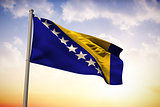 Bosnia national flag