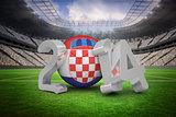 Croatia world cup 2014 message