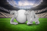 World cup 2014 in white and grey