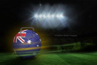 Football in australia colours