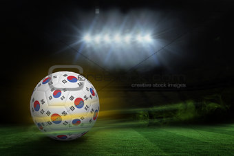 Football in south korea colours
