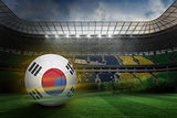 Football in south korea colours
