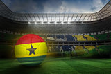 Football in ghana colours