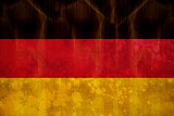Germany flag in grunge effect