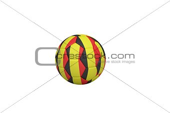 Football in belgian colours