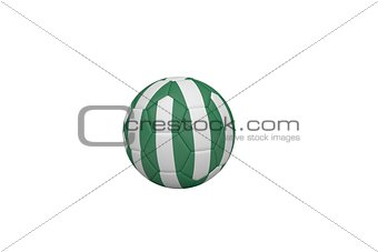 Football in nigeria colours