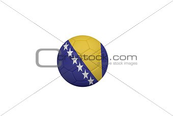 Football in bosnia and herzegovina colours