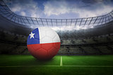 Football in chile colours