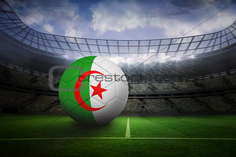 Football in algeria colours