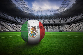 Football in mexico colours