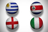 Group d footballs for world cup