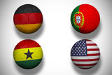 Group g footballs for world cup