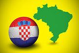 Football in croatia colours