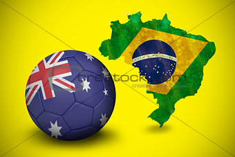 Football in australia colours