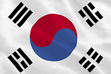 Korea republic national flag