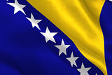 Bosnia herzegovina national flag