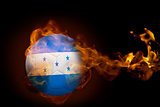 Fire surrounding honduras ball