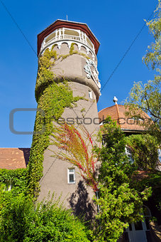 Old german water tower. Svetlogorsk (Rauschen), Russia